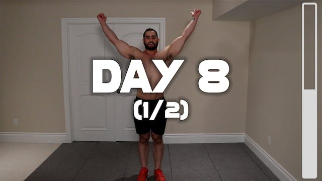 Day 8 (1/2): Warm-up Routine