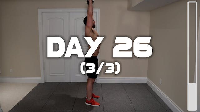 Day 26 (3/3): Shoulder Workout