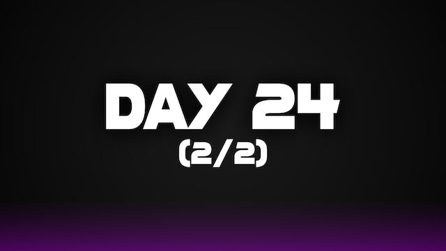 Day 24 (2/2)