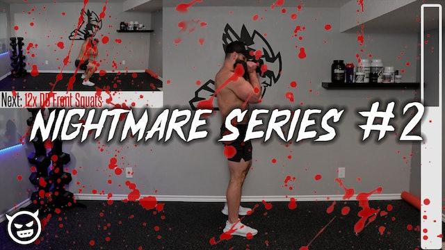 11min INSANE Full Body Home Dumbbell Workout (NIGHTMARE SERIES PT.2!!)