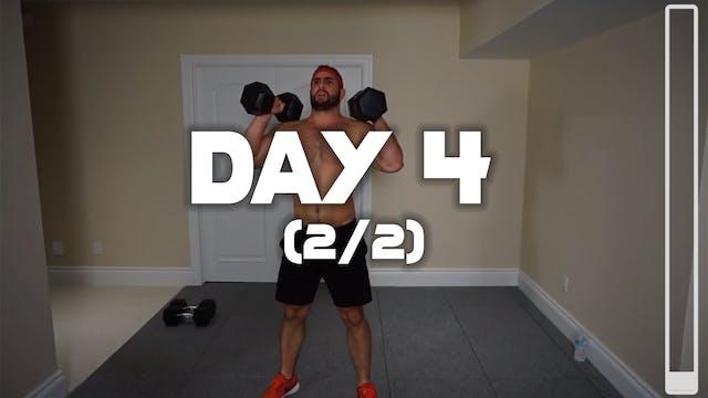 Day 4 (2/2): Leg Workout