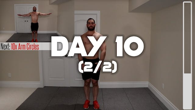 Day 10 (2/2): Full Body Workout