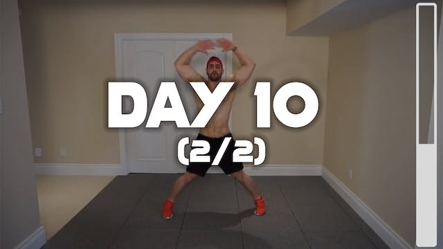 Day 10 (2/2): Fat Burning Workout