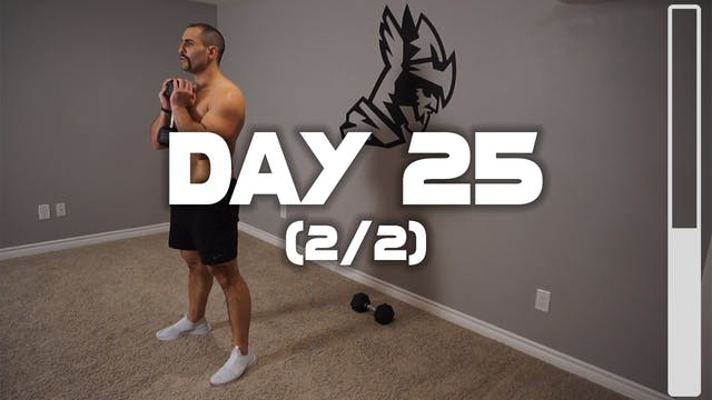 Day 25 (2/2): Leg Workout