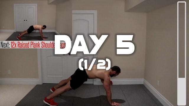 Day 5 (1/2): Warm-up Routine