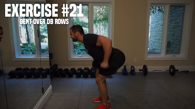 Bent Over DB Rows