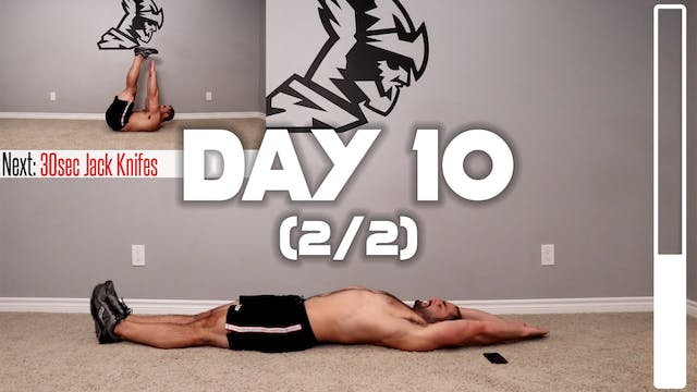 Day 10 (2/2): Core Workout