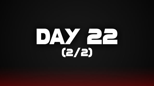 Day 22 (2/2)