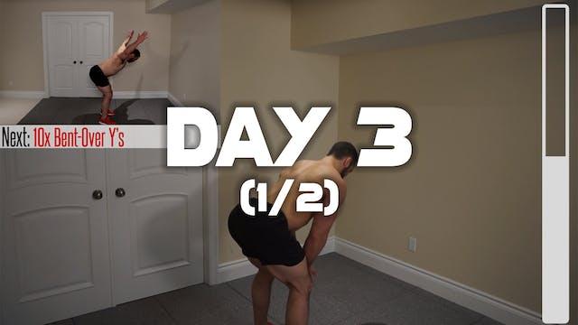 Day 3 (1/2): Warm-up Routine