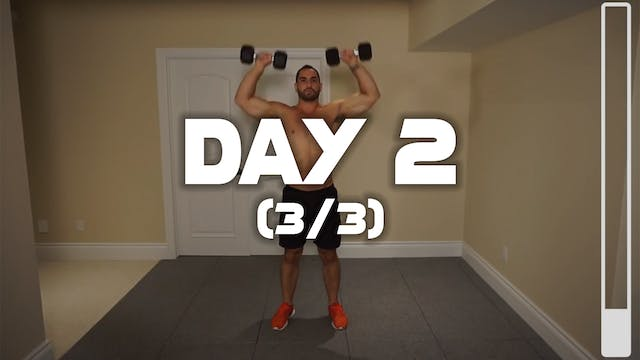 Day 2 (3/3): Shoulder & Traps Workout