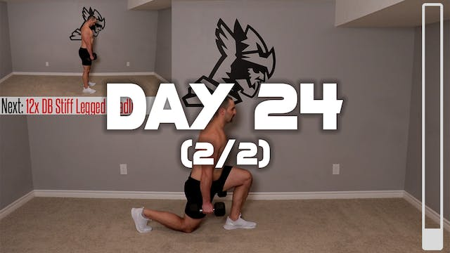 Day 24 (2/2): Full Body Workout #2
