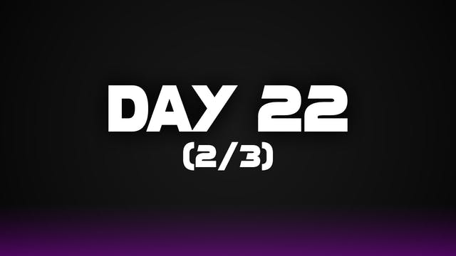 Day 22 (2/3)