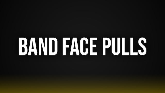 Band Face Pulls