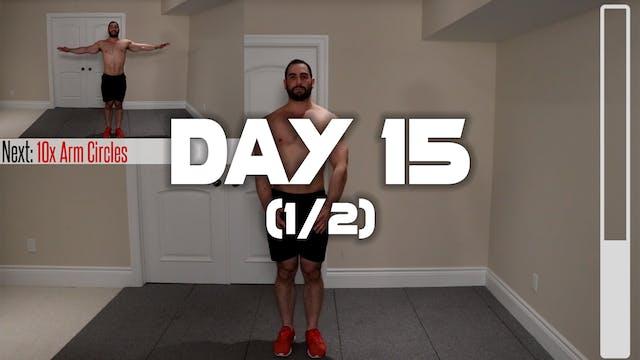 Day 15 (1/2): Warm-up Routine