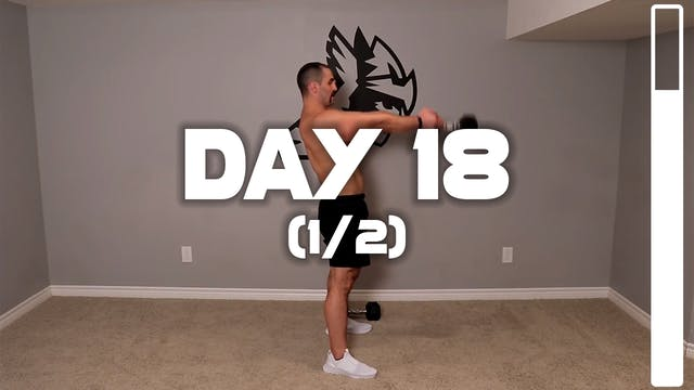 Day 18 (1/2): Leg Workout