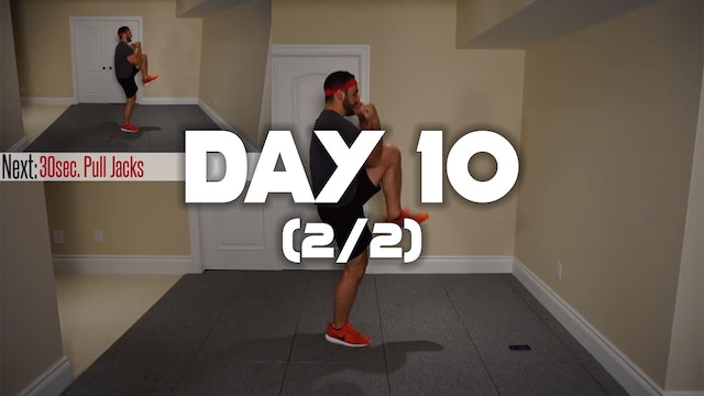 Day 10 (2/2): Fat Incinerating Workout