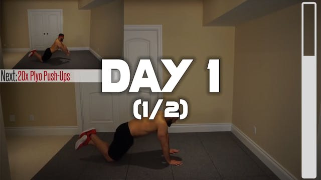 Day 1 (1/2): Belly Fat Melting Workout