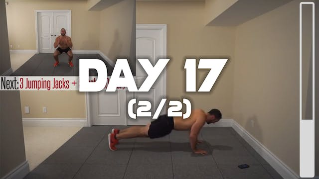 Day 17 (2/2): Fat Burning Workout