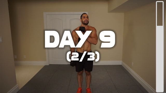 Day 9 (2/3): Back & Biceps Workout
