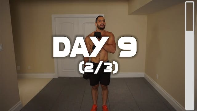 Day 9 (2/3): Back & Biceps Workout