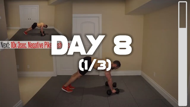 Day 8 (1/3): Chest Workout