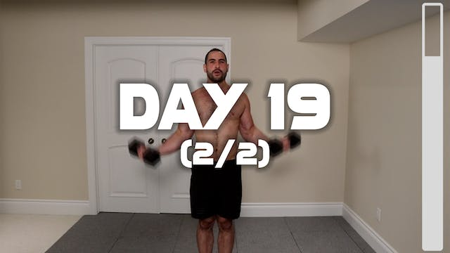 Day 19 (2/2): Arm Workout