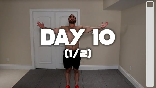 Day 10 (1/2): Warm-up Routine