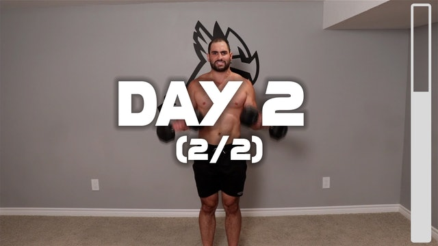 Day 2 (2/2):Upper Body Workout