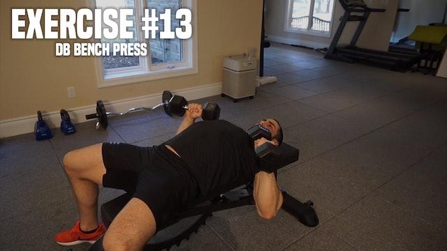 DB Bench Press