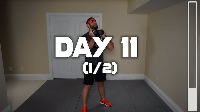 Day 11 (1/2): Lower Body Workout