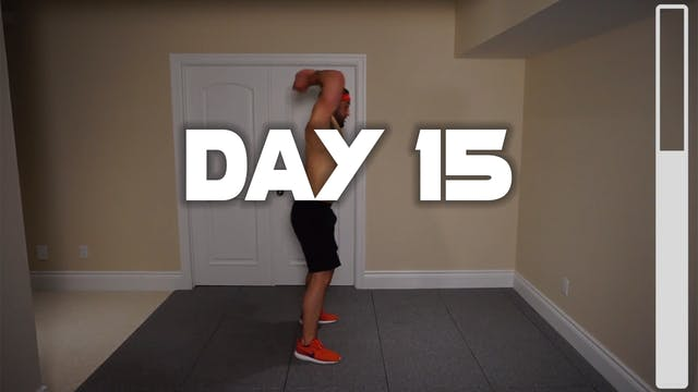 Day 15: Shredding Body Fat Workout