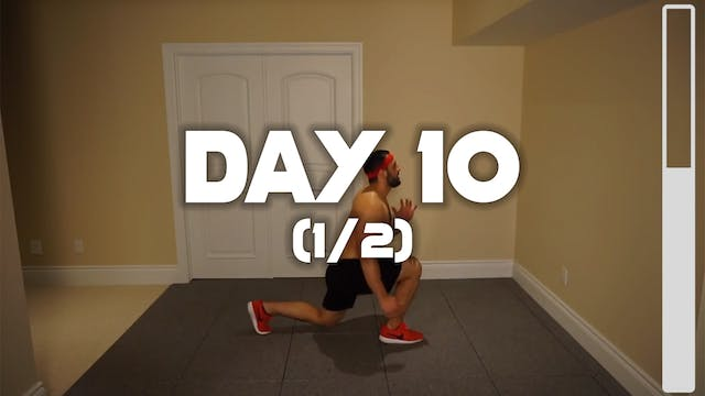 Day 10 (1/2): Cardio Fat Burning Workout