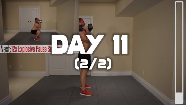 Day 11 (2/2): Leg Workout