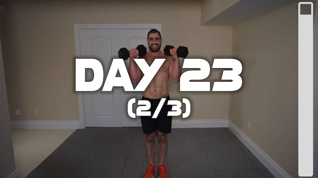 Day 23 (2/3): Biceps Workout