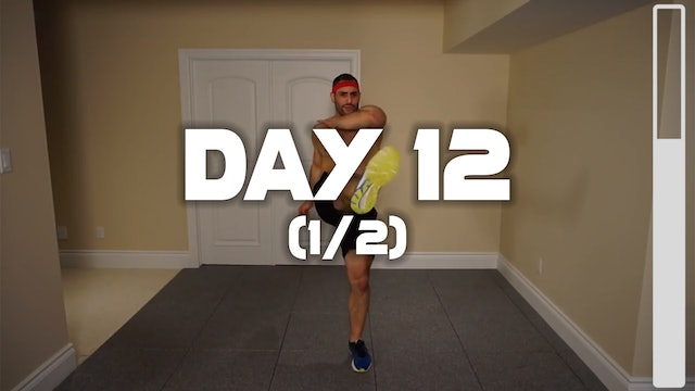 Day 12 (1/2): Fat Incinerating Workout
