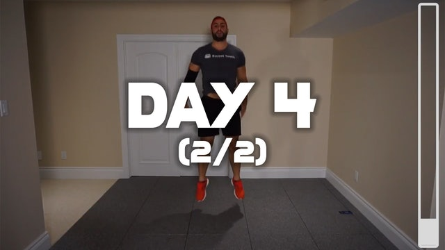 Day 4 (2/2): HITT Cardio Workout