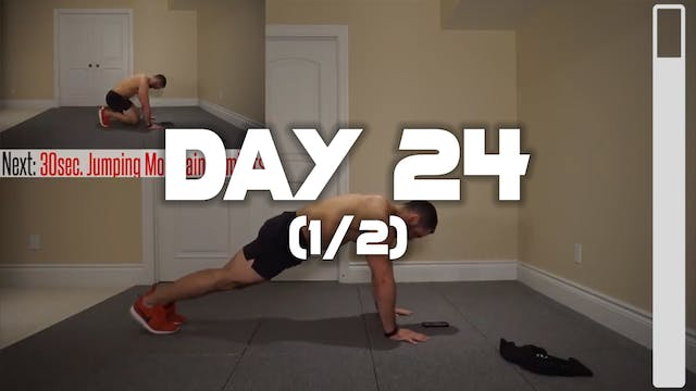 Day 24 (1/2): Lower Abdominal Workout