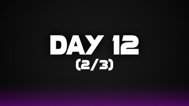 Day 12 (2/3)