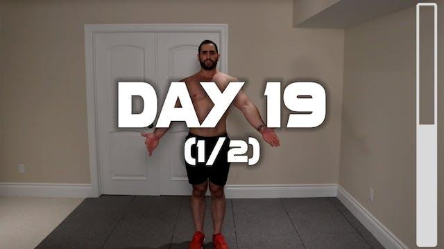 Day 19 (1/2): Warm-up Routine