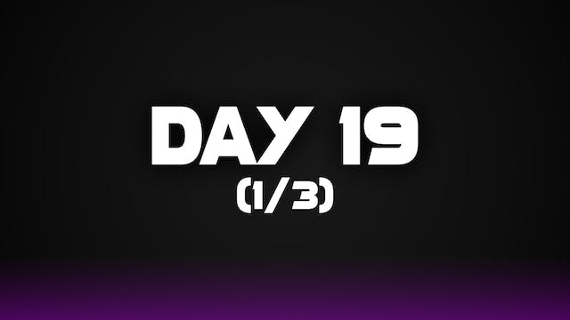 Day 19 (1/3)