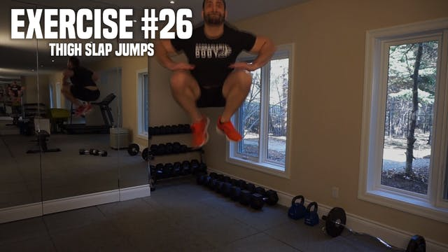 Thigh Slap Jumps