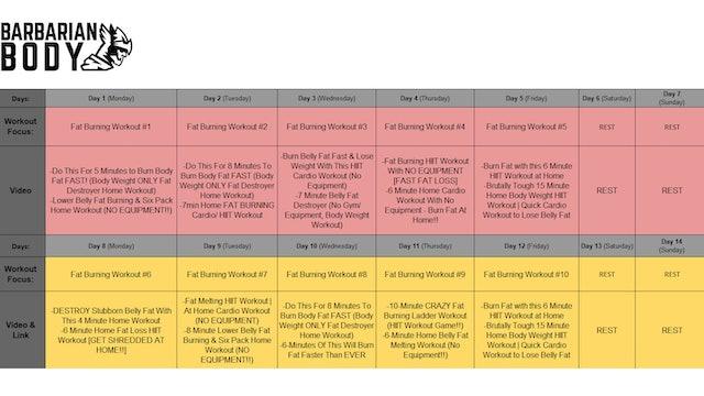Home Shredding Program LITE Schedule