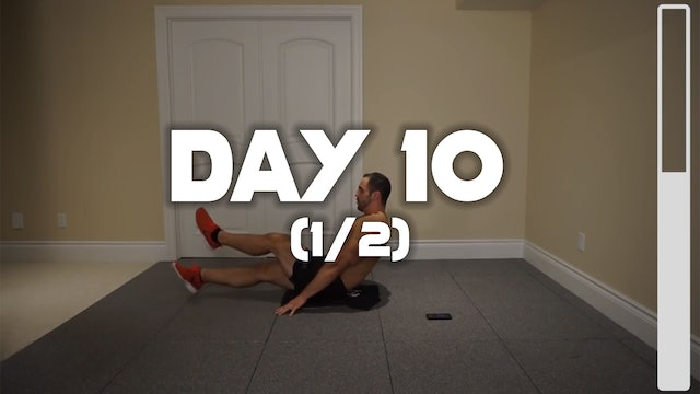 Day 10 (1/2): Lower Abdominal & Oblique Workout