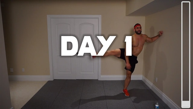 Day 1: Shredding Body Fat Workout