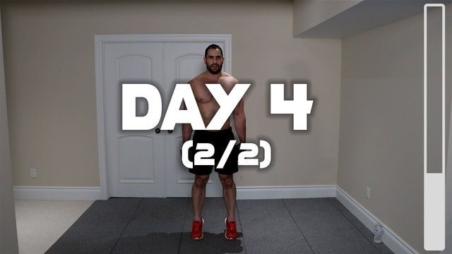 Day 4 (2/2): Lower Body Workout