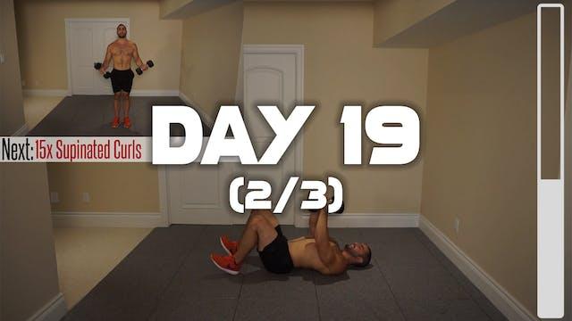 Day 19 (2/3): Chest, Abdominal & Bice...