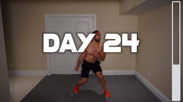 Day 24: Shredding Body Fat Workout