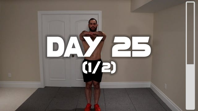 Day 25 (1/2): Warm-up Routine
