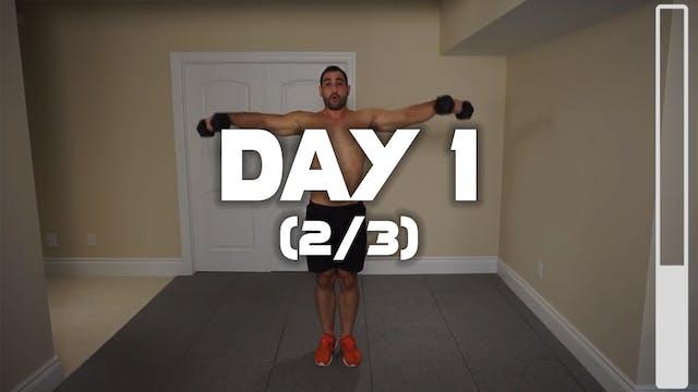 Day 1 (2/3): Shoulder Workout
