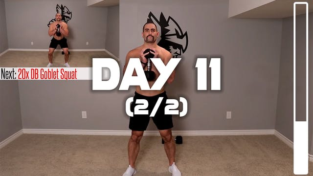 Day 11 (2/2): Leg Workout B